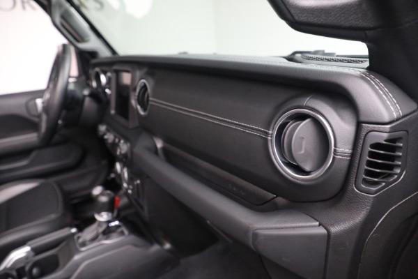 Used 2020 Jeep Wrangler Unlimited Sahara for sale Sold at Alfa Romeo of Westport in Westport CT 06880 21