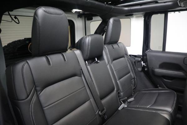 Used 2020 Jeep Wrangler Unlimited Sahara for sale Sold at Alfa Romeo of Westport in Westport CT 06880 24