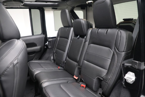 Used 2020 Jeep Wrangler Unlimited Sahara for sale Sold at Alfa Romeo of Westport in Westport CT 06880 25