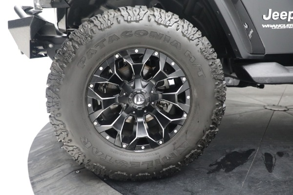 Used 2020 Jeep Wrangler Unlimited Sahara for sale Sold at Alfa Romeo of Westport in Westport CT 06880 26