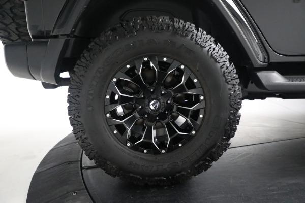 Used 2020 Jeep Wrangler Unlimited Sahara for sale Sold at Alfa Romeo of Westport in Westport CT 06880 27