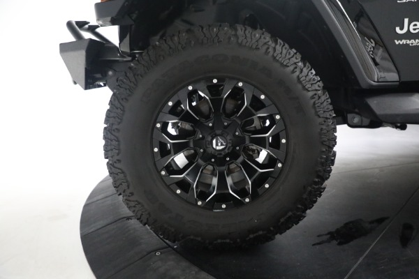 Used 2020 Jeep Wrangler Unlimited Sahara for sale Sold at Alfa Romeo of Westport in Westport CT 06880 28