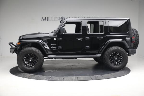 Used 2020 Jeep Wrangler Unlimited Sahara for sale Sold at Alfa Romeo of Westport in Westport CT 06880 4
