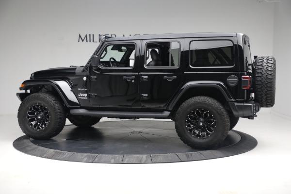 Used 2020 Jeep Wrangler Unlimited Sahara for sale Sold at Alfa Romeo of Westport in Westport CT 06880 5