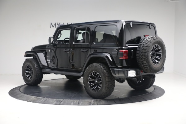 Used 2020 Jeep Wrangler Unlimited Sahara for sale Sold at Alfa Romeo of Westport in Westport CT 06880 6