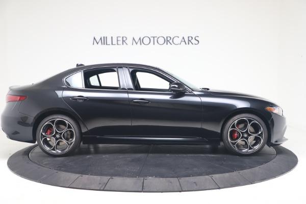 New 2022 Alfa Romeo Giulia Veloce for sale $52,045 at Alfa Romeo of Westport in Westport CT 06880 9