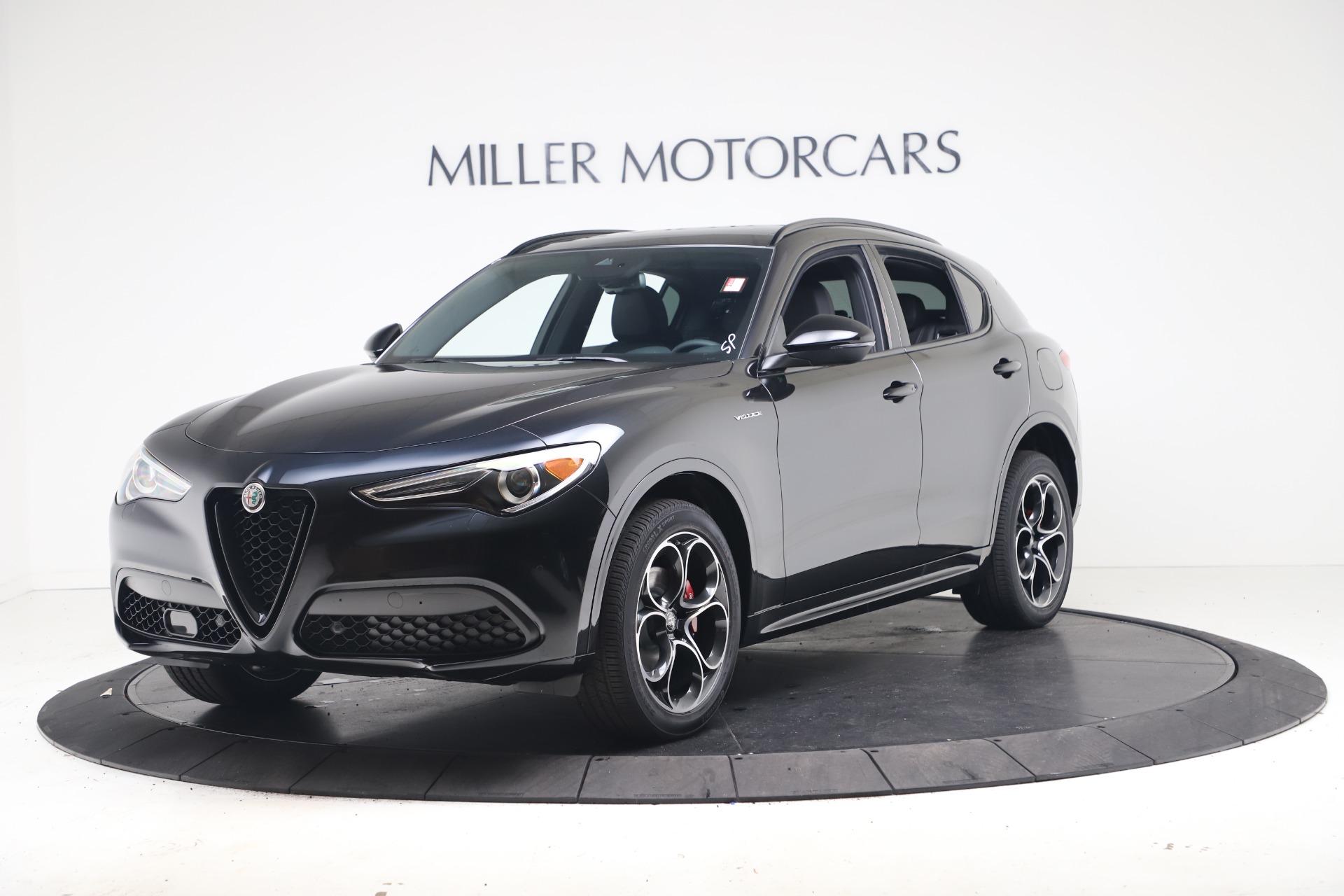 New 2022 Alfa Romeo Stelvio Veloce for sale $55,155 at Alfa Romeo of Westport in Westport CT 06880 1