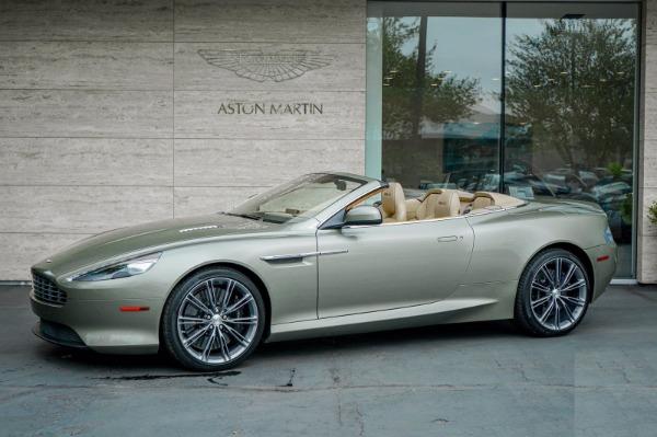 Used 2015 Aston Martin DB9 Volante for sale $119,990 at Alfa Romeo of Westport in Westport CT 06880 2