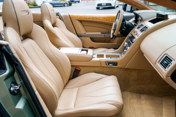 Used 2015 Aston Martin DB9 Volante for sale $119,990 at Alfa Romeo of Westport in Westport CT 06880 6