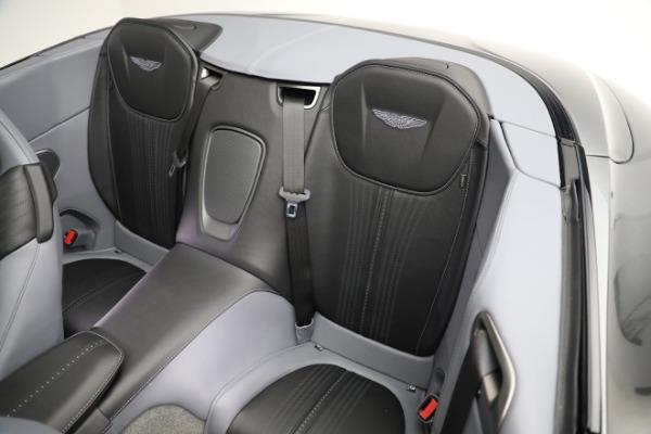 New 2021 Aston Martin DB11 Volante for sale $260,286 at Alfa Romeo of Westport in Westport CT 06880 19