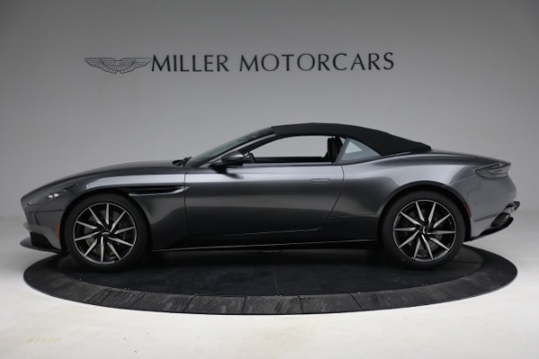 New 2021 Aston Martin DB11 Volante for sale $260,286 at Alfa Romeo of Westport in Westport CT 06880 24