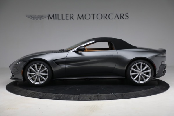New 2021 Aston Martin Vantage Roadster for sale $174,586 at Alfa Romeo of Westport in Westport CT 06880 19
