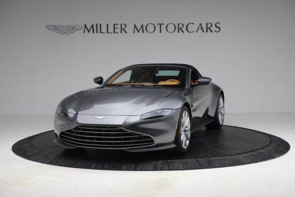 New 2021 Aston Martin Vantage Roadster for sale $174,586 at Alfa Romeo of Westport in Westport CT 06880 23