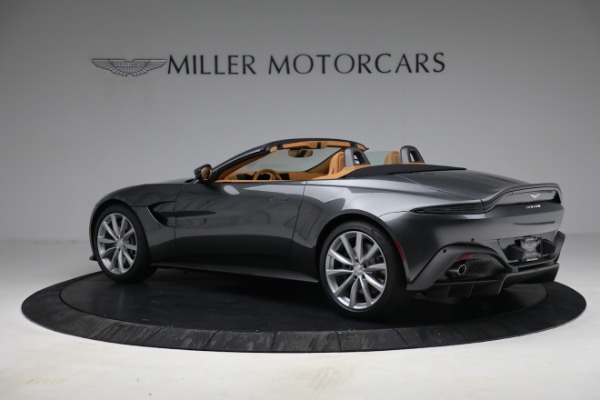 New 2021 Aston Martin Vantage Roadster for sale $174,586 at Alfa Romeo of Westport in Westport CT 06880 3