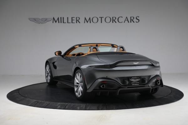 New 2021 Aston Martin Vantage Roadster for sale $174,586 at Alfa Romeo of Westport in Westport CT 06880 4