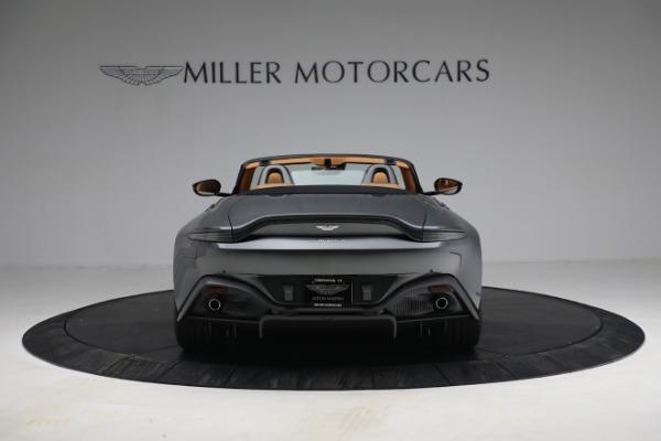 New 2021 Aston Martin Vantage Roadster for sale $174,586 at Alfa Romeo of Westport in Westport CT 06880 5