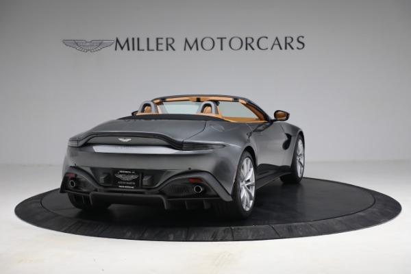 New 2021 Aston Martin Vantage Roadster for sale $174,586 at Alfa Romeo of Westport in Westport CT 06880 6