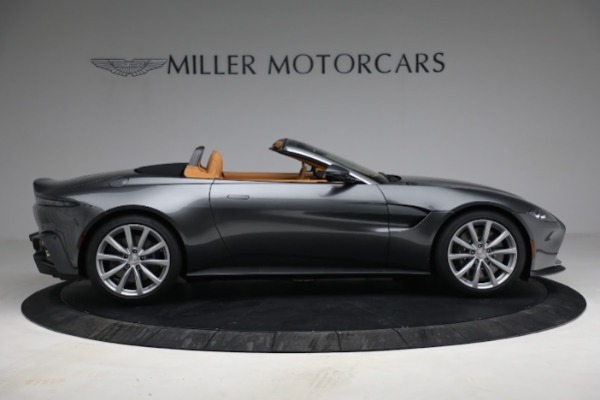New 2021 Aston Martin Vantage Roadster for sale $174,586 at Alfa Romeo of Westport in Westport CT 06880 8