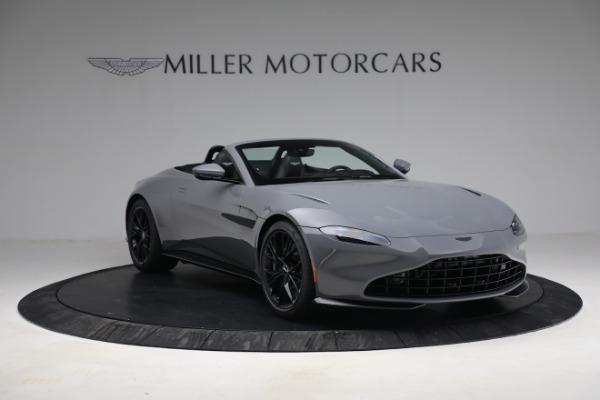 New 2021 Aston Martin Vantage Roadster for sale $180,286 at Alfa Romeo of Westport in Westport CT 06880 10