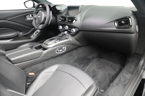 New 2021 Aston Martin Vantage Roadster for sale $180,286 at Alfa Romeo of Westport in Westport CT 06880 18