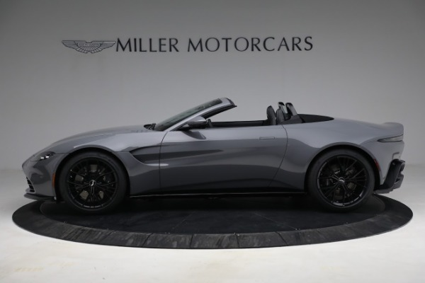 New 2021 Aston Martin Vantage Roadster for sale $180,286 at Alfa Romeo of Westport in Westport CT 06880 2