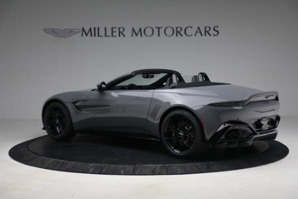 New 2021 Aston Martin Vantage Roadster for sale $180,286 at Alfa Romeo of Westport in Westport CT 06880 3