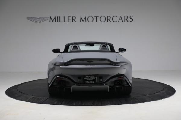 New 2021 Aston Martin Vantage Roadster for sale $180,286 at Alfa Romeo of Westport in Westport CT 06880 5