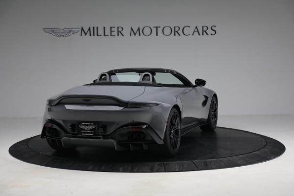 New 2021 Aston Martin Vantage Roadster for sale $180,286 at Alfa Romeo of Westport in Westport CT 06880 6