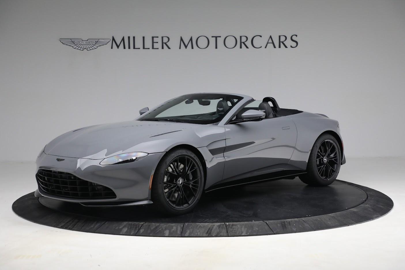 New 2021 Aston Martin Vantage Roadster for sale $180,286 at Alfa Romeo of Westport in Westport CT 06880 1