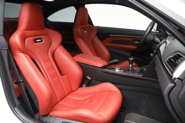 Used 2019 BMW M4 for sale $71,900 at Alfa Romeo of Westport in Westport CT 06880 19