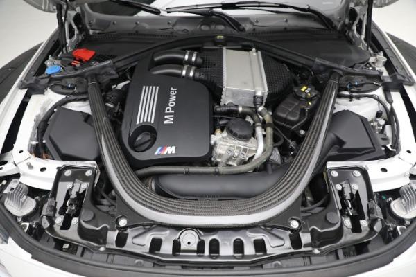 Used 2019 BMW M4 for sale $71,900 at Alfa Romeo of Westport in Westport CT 06880 27