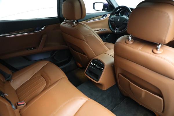 Used 2014 Maserati Quattroporte S Q4 for sale $42,900 at Alfa Romeo of Westport in Westport CT 06880 19