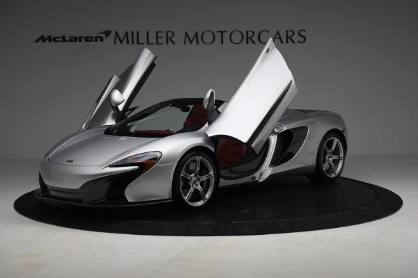 Used 2015 McLaren 650S Spider for sale $179,990 at Alfa Romeo of Westport in Westport CT 06880 13