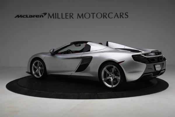 Used 2015 McLaren 650S Spider for sale $179,990 at Alfa Romeo of Westport in Westport CT 06880 3