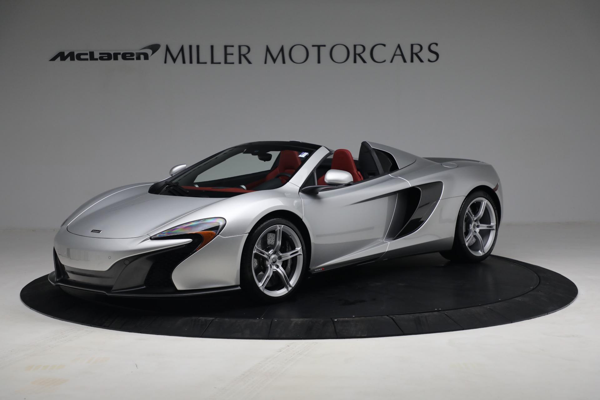 Used 2015 McLaren 650S Spider for sale $179,990 at Alfa Romeo of Westport in Westport CT 06880 1