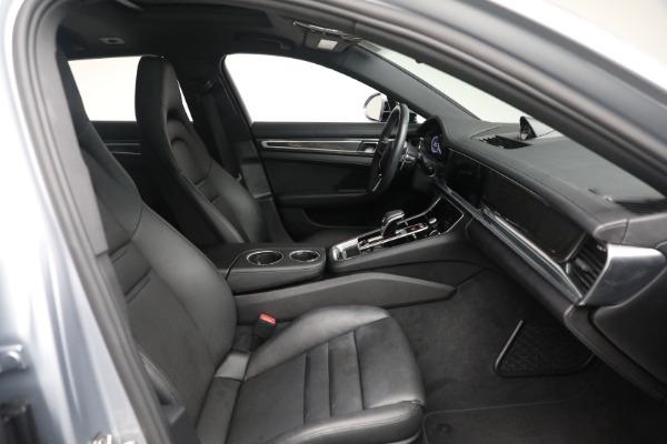 Used 2018 Porsche Panamera 4 Sport Turismo for sale $97,900 at Alfa Romeo of Westport in Westport CT 06880 25
