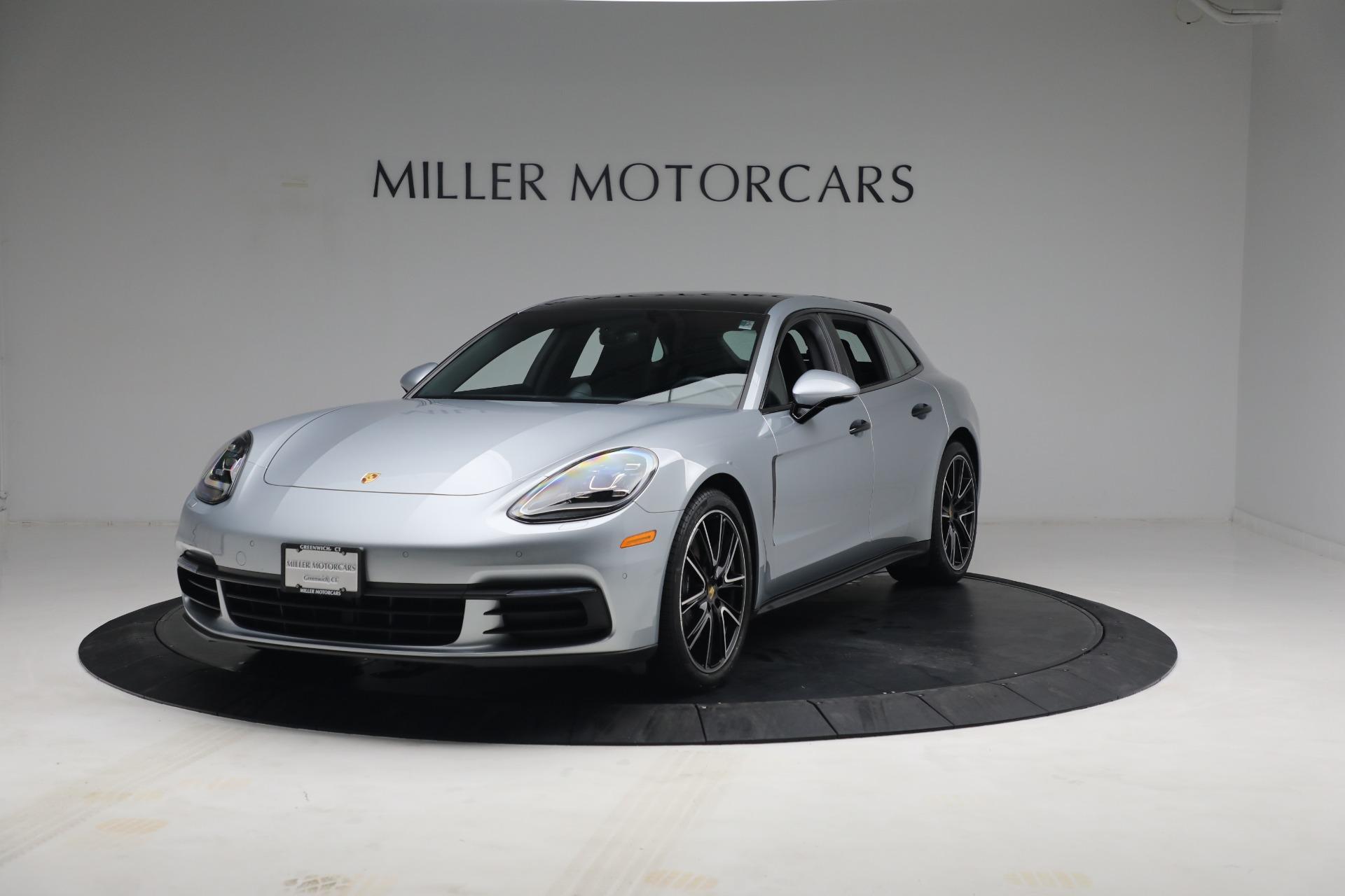 Used 2018 Porsche Panamera 4 Sport Turismo for sale $97,900 at Alfa Romeo of Westport in Westport CT 06880 1