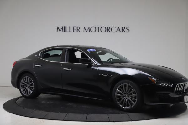 Used 2018 Maserati Ghibli SQ4 for sale $54,900 at Alfa Romeo of Westport in Westport CT 06880 10