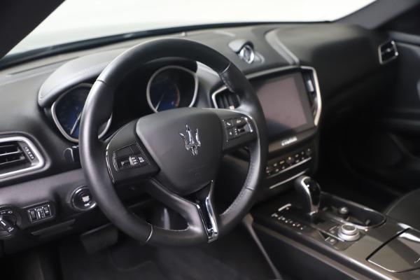 Used 2018 Maserati Ghibli SQ4 for sale $54,900 at Alfa Romeo of Westport in Westport CT 06880 13