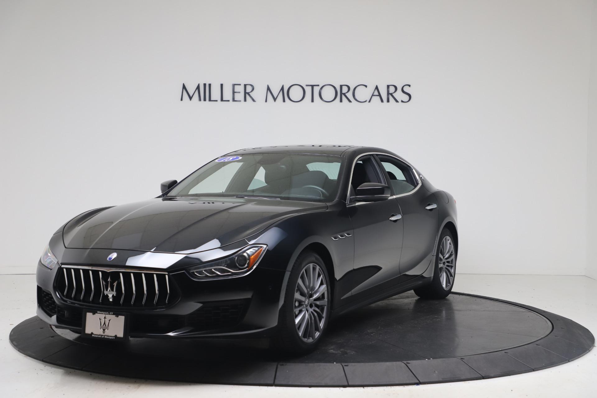 Used 2018 Maserati Ghibli SQ4 for sale $54,900 at Alfa Romeo of Westport in Westport CT 06880 1