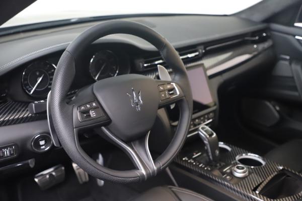 New 2022 Maserati Quattroporte Modena Q4 for sale $131,195 at Alfa Romeo of Westport in Westport CT 06880 13