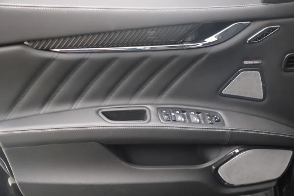 New 2022 Maserati Quattroporte Modena Q4 for sale $131,195 at Alfa Romeo of Westport in Westport CT 06880 16