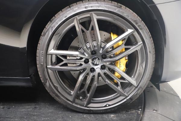 New 2022 Maserati Quattroporte Modena Q4 for sale $131,195 at Alfa Romeo of Westport in Westport CT 06880 23
