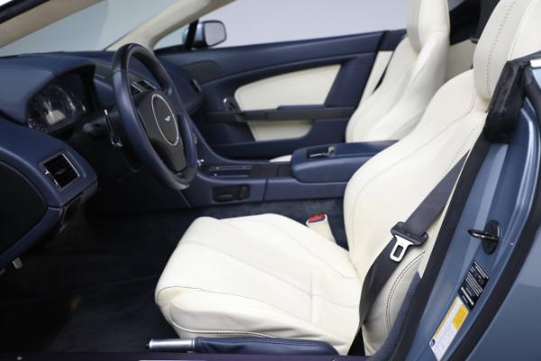 Used 2009 Aston Martin V8 Vantage Roadster for sale Call for price at Alfa Romeo of Westport in Westport CT 06880 14