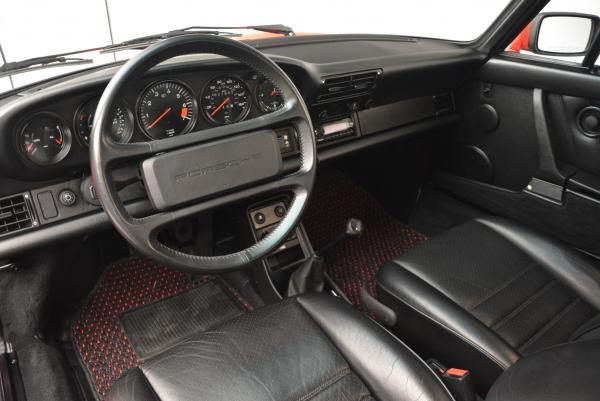 Used 1988 Porsche 911 Carrera for sale Sold at Alfa Romeo of Westport in Westport CT 06880 13