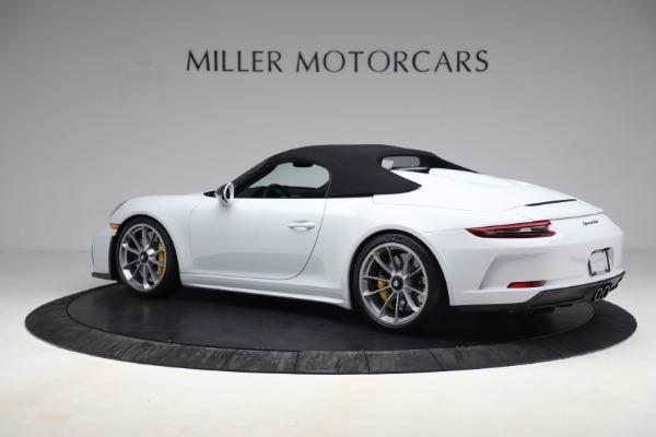 Used 2019 Porsche 911 Speedster for sale $395,900 at Alfa Romeo of Westport in Westport CT 06880 15