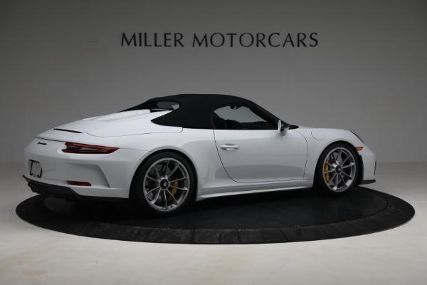 Used 2019 Porsche 911 Speedster for sale $395,900 at Alfa Romeo of Westport in Westport CT 06880 18