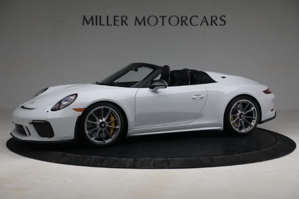 Used 2019 Porsche 911 Speedster for sale $395,900 at Alfa Romeo of Westport in Westport CT 06880 2