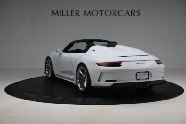 Used 2019 Porsche 911 Speedster for sale $395,900 at Alfa Romeo of Westport in Westport CT 06880 5