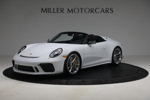 Used 2019 Porsche 911 Speedster for sale $395,900 at Alfa Romeo of Westport in Westport CT 06880 1